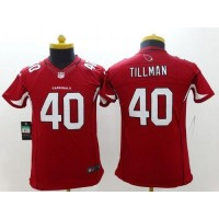 Nike Cardinals #40 Pat Tillman Red Team Color Youth Stitched NFL Limited Jersey