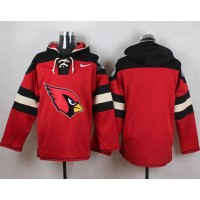 Nike Cardinals Blank Red Player Pullover NFL Hoodie