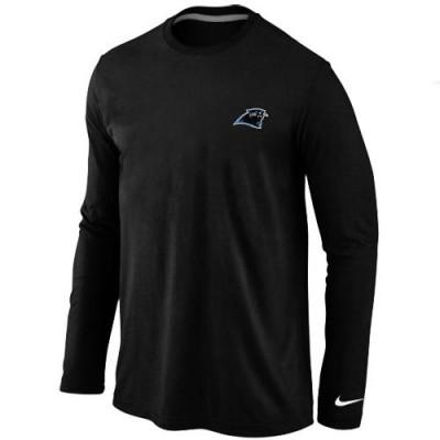Nike Carolina Panthers Sideline Legend Authentic Logo Long Sleeve T-Shirt  Black 2014ea401