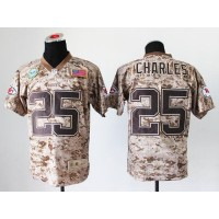 Nike Chiefs #25 Jamaal Charles Camo Men's Stitched NFL New Elite USMC Jersey