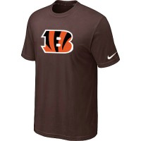 Nike Cincinnati Bengals Sideline Legend Authentic Logo Dri-FIT NFL T-Shirt Brown