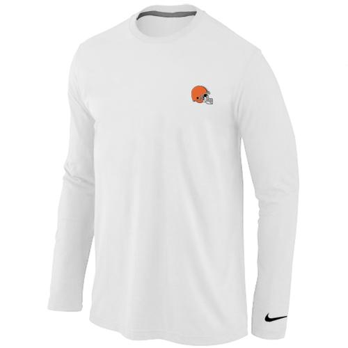 Cheap Nike Cleveland Browns Sideline Legend Authentic Logo Long Sleeve T  for cheap