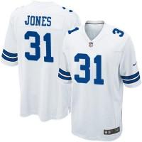 Nike Cowboys #31 Byron Jones White Youth Stitched NFL Elite Jersey