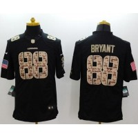 Nike Cowboys #88 Dez Bryant Black Youth Stitched NFL Limited Salute to Service Jersey