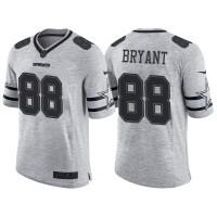 Nike Dallas Cowboys #88 Dez Bryant 2016 Gridiron Gray II Men's NFL Limited Jersey