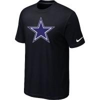 Nike Dallas Cowboys Sideline Legend Authentic Logo Dri-FIT NFL T-Shirt Black