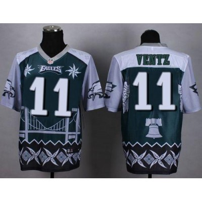 ... philadelphia eagles drift fashion 11 pro  nike eagles 11 carson wentz  midnight green mens stitched nfl elite noble fashion jersey c3722f7a9