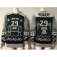 Nike Eagles #29 DeMarco Murray GreenGrey Men's Ugly Sweater