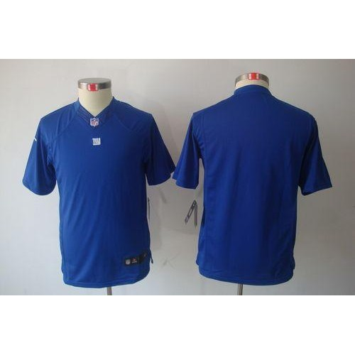 Nike Giants Blank Royal Blue Team Color Youth Stitched NFL Limited  for cheap