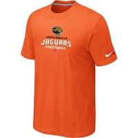 Nike Jacksonville Jaguars Big & Tall Critical Victory NFL T-Shirt Orange