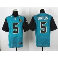 Nike Jaguars #5 Blake Bortles Teal Green Team Color Men's Stitched NFL Elite Jersey