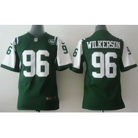 Nike Jets #96 Muhammad Wilkerson Green Team Color Youth Stitched NFL Elite Jersey