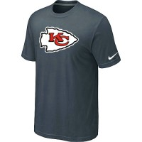 Nike Kansas City Chiefs Sideline Legend Authentic Logo Dri-FIT NFL T-Shirt Crow Grey