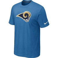 Nike Los Angeles Rams Sideline Legend Authentic Logo Dri-FIT NFL T-Shirt Indigo Blue