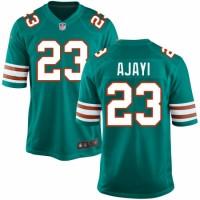 Nike Miami Dolphins #23 Jay Ajayi Aqua Green Alternate Men's Stitched NFL Limited Jersey