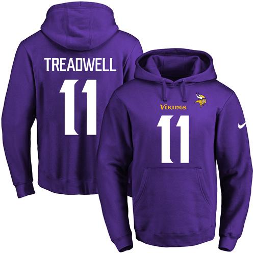 ... greece nike minnesota vikings 11 laquon treadwell purple name number  pullover nfl hoodie 05cb9 1363d ... c9884a583