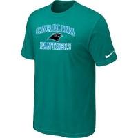 Nike NFL Carolina Panthers Heart & Soul NFL T-Shirt Teal Green