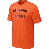 Nike NFL Chicago Bears Heart & Soul NFL T-Shirt Orange