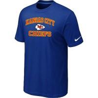 Nike NFL Kansas City Chiefs Heart & Soul NFL T-Shirt Blue