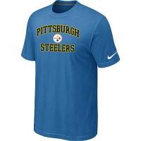 Nike NFL Pittsburgh Steelers Heart & Soul NFL T-Shirt Indigo Blue