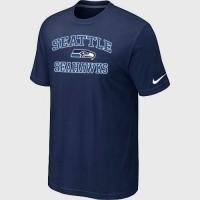 Nike NFL Seattle Seahawks Heart & Soul NFL T-Shirt Midnight Blue