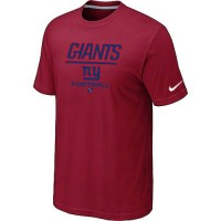 Nike New York Giants Big & Tall Critical Victory NFL T-Shirt Red