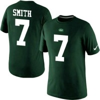 Nike New York Jets #7 Geno Smith Pride Name & Number NFL T-Shirt Green