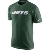 Nike New York Jets Fast Wordmark T-Shirt Green