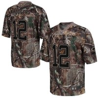 Nike Packers #12 Aaron Rodgers Camo Youth Stitched NFL Realtree Elite Jersey