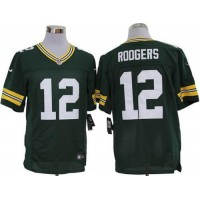 Nike Packers #12 Aaron Rodgers Green Team Color Men's Stitched NFL Limited Jersey