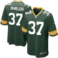 Nike Packers #37 Sam Shields Green Team Color Youth Stitched NFL Elite Jersey