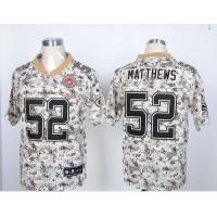 Nike Packers #52 Clay Matthews Camo USMC Men's Stitched NFL Elite Jersey