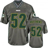 Nike Packers #52 Clay Matthews Grey Youth Stitched NFL Elite Vapor Jersey
