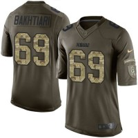 Nike Packers #69 David Bakhtiari Green Men's Stitched NFL Limited Salute To Service Jersey
