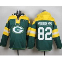 Nike Packers #82 Richard Rodgers Green Player Pullover NFL Hoodie