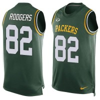 Nike Packers #82 Richard Rodgers Green Team Color Men's Stitched NFL Limited Tank Top Jersey
