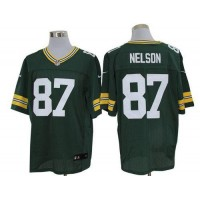 Nike Packers #87 Jordy Nelson Green Team Color Men's Stitched NFL Limited Jersey