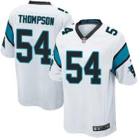 Nike Panthers #54 Shaq Thompson White Youth Stitched NFL Elite Jersey