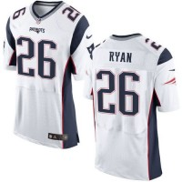 Nike Patriots #26 Logan Ryan White Men's Stitched NFL New Elite Jersey