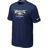 Nike Philadelphia Eagles Critical Victory NFL T-Shirt Midnight Blue