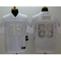 Nike Raiders #89 Amari Cooper White Men's Stitched NFL Limited Platinum Jersey