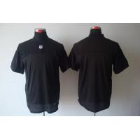 Nike Raiders Blank Black Team Color Men's Stitched NFL Elite Jersey