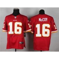 Nike Redskins #16 Colt McCoy Burgundy Red Team Color Men's Stitched NFL Elite Jersey