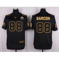 Nike Redskins #88 Pierre Garcon Black Men's Stitched NFL Elite Pro Line Gold Collection Jersey