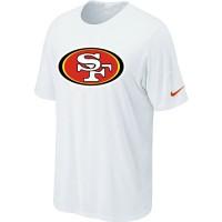 Nike San Francisco 49ers Sideline Legend Authentic Logo Dri-FIT NFL T-Shirt White