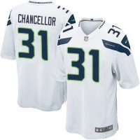 Nike Seahawks #31 Kam Chancellor White Youth Stitched NFL Elite Jersey