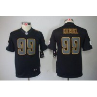 Nike Steelers #99 Brett Keisel Black Impact Youth Stitched NFL Limited Jersey