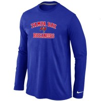 Nike Tampa Bay Buccaneers Heart & Soul Long Sleeve T-Shirt Blue