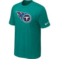 Nike Tennessee Titans Sideline Legend Authentic Logo Dri-FIT NFL T-Shirt Teal Green