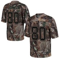 Nike Texans #80 Andre Johnson Camo Men's Stitched NFL Realtree Elite Jersey